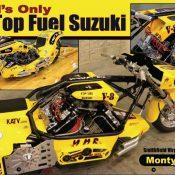 Monty Hills V8 Top Fuel Suzuki