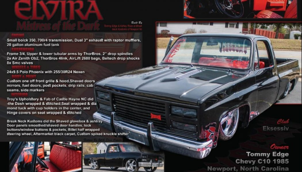 Tommy Edge's 1985 Chevy C-10
