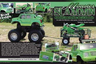 Blakeley Perkins's Monster Slammin Power Wheel