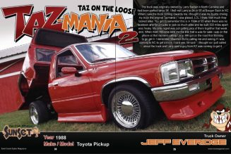 Jeff Everidge's 1988 Toyota Pickup