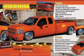 Leroy Wilbanks 2008 Chevy 2500 HD