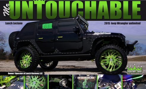Mr Untouchable's 2015 Jeep Wrangler unlimited custom