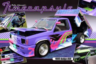"Bobby Arkwright's 1989 dodge d50 "" Time Capsule """