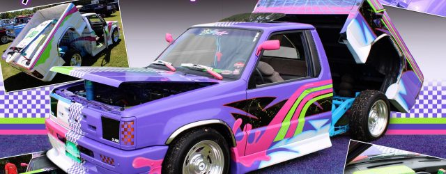 """Bobby Arkwright's 1989 dodge d50 """" Time Capsule """""""