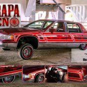 Hector Calderon's 1993 Cadillac Fleetwood Lowrider