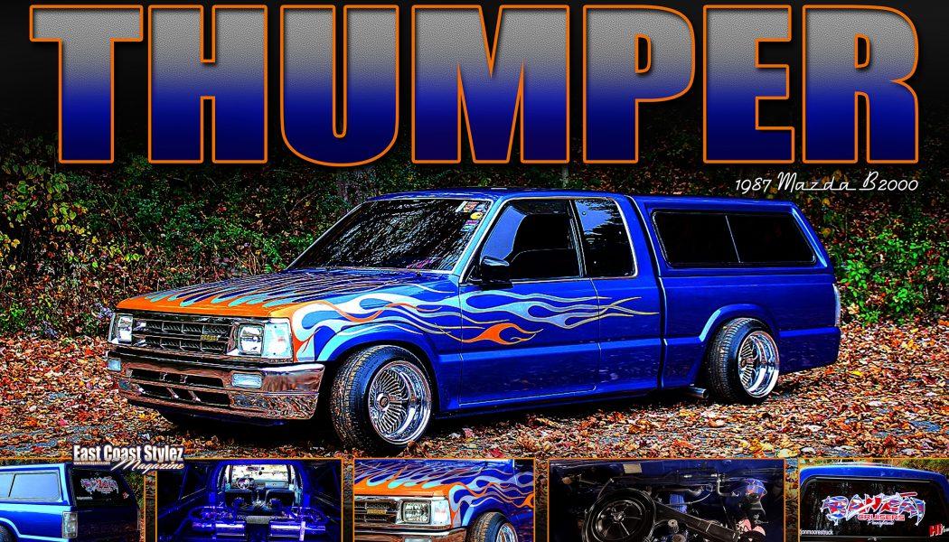 """Nate Reed's 1987 Mazda B2000 """" Thumper """""""